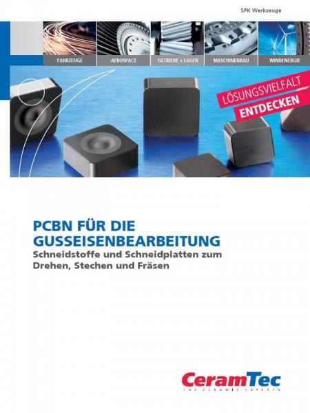 6 Voorblad PCBN wisselplaten