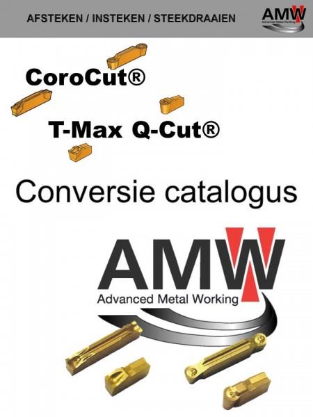 T Max Q-cut en Corocut 123  versus AMW