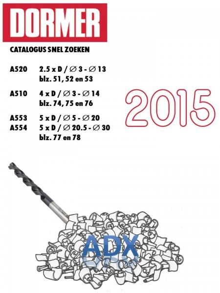 Voorblad ADX catalogus