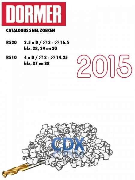 Voorblad CDX catalogus