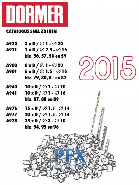 Voorblad PFX catalogus