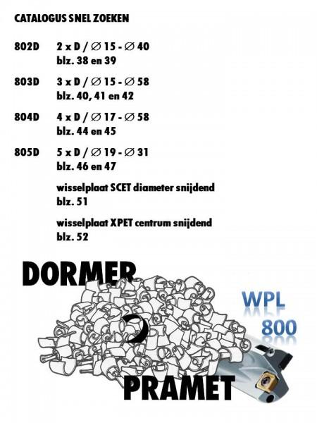 Voorblad WPL800 catalogus
