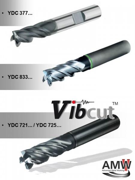 YDC VHM frezen 377 721 725 833 EG1